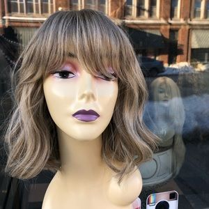 Accessories - Ash blonde bob wig wavy sale 2019 hairstyle wig
